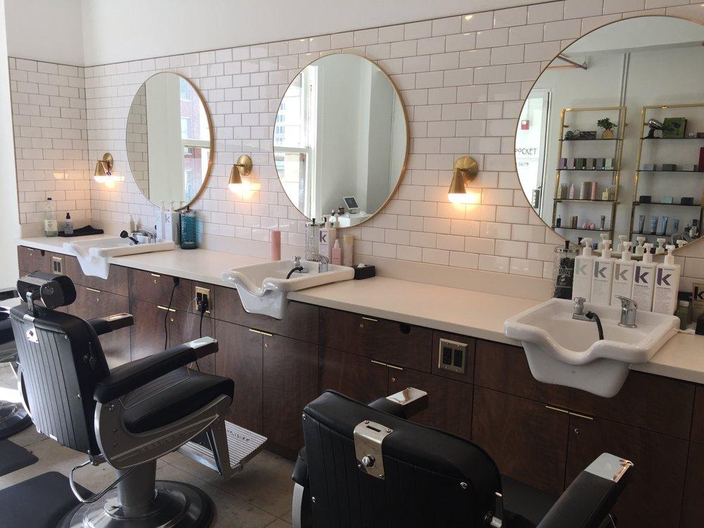 Photo: Brass in Pocket Barbershop & Salon
