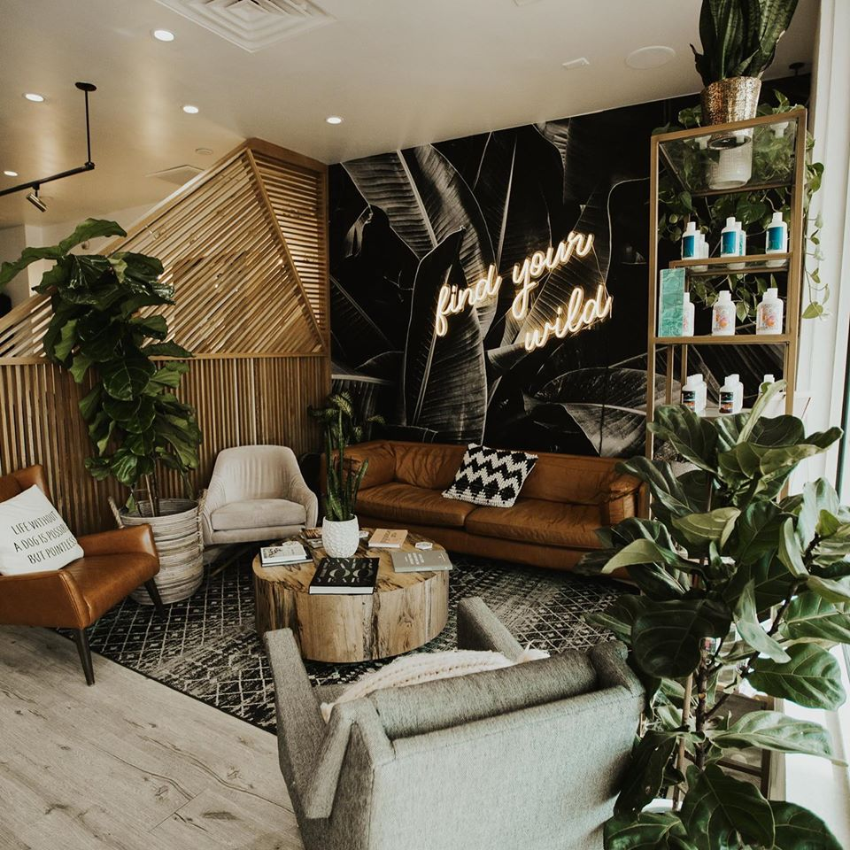 Salon Tour Design Inspiration from Wildflower Collective in Las Vegas