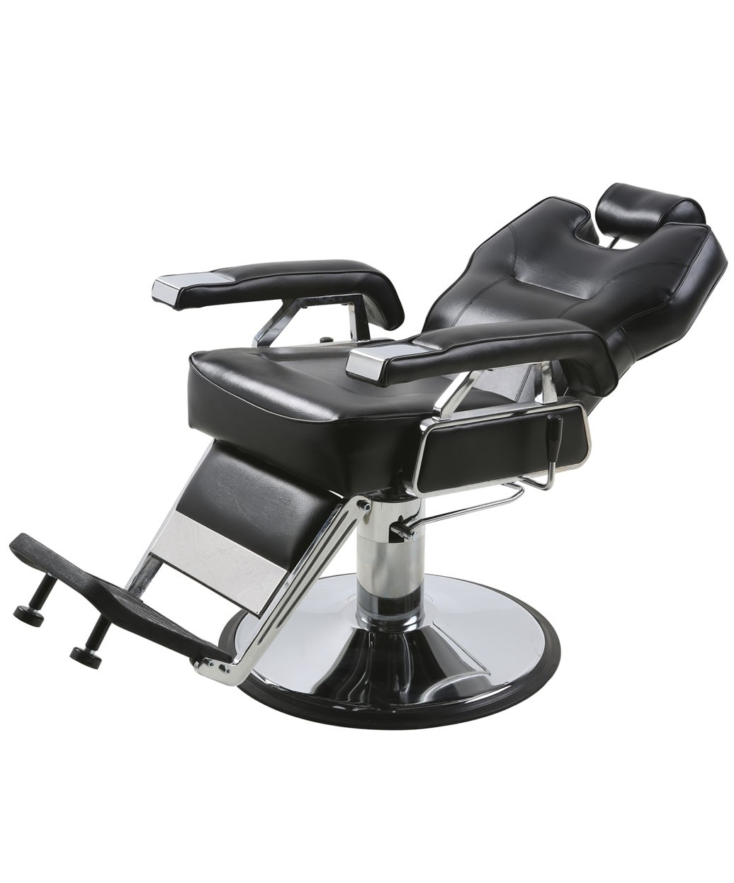Sturdy Barber Chair Stainless Steel Metal Rotate Lift Beauty Stools Acrylic Nail Embroidery Chairs With Rollers Outstanding Features Commercial Furniture Salon Furniture