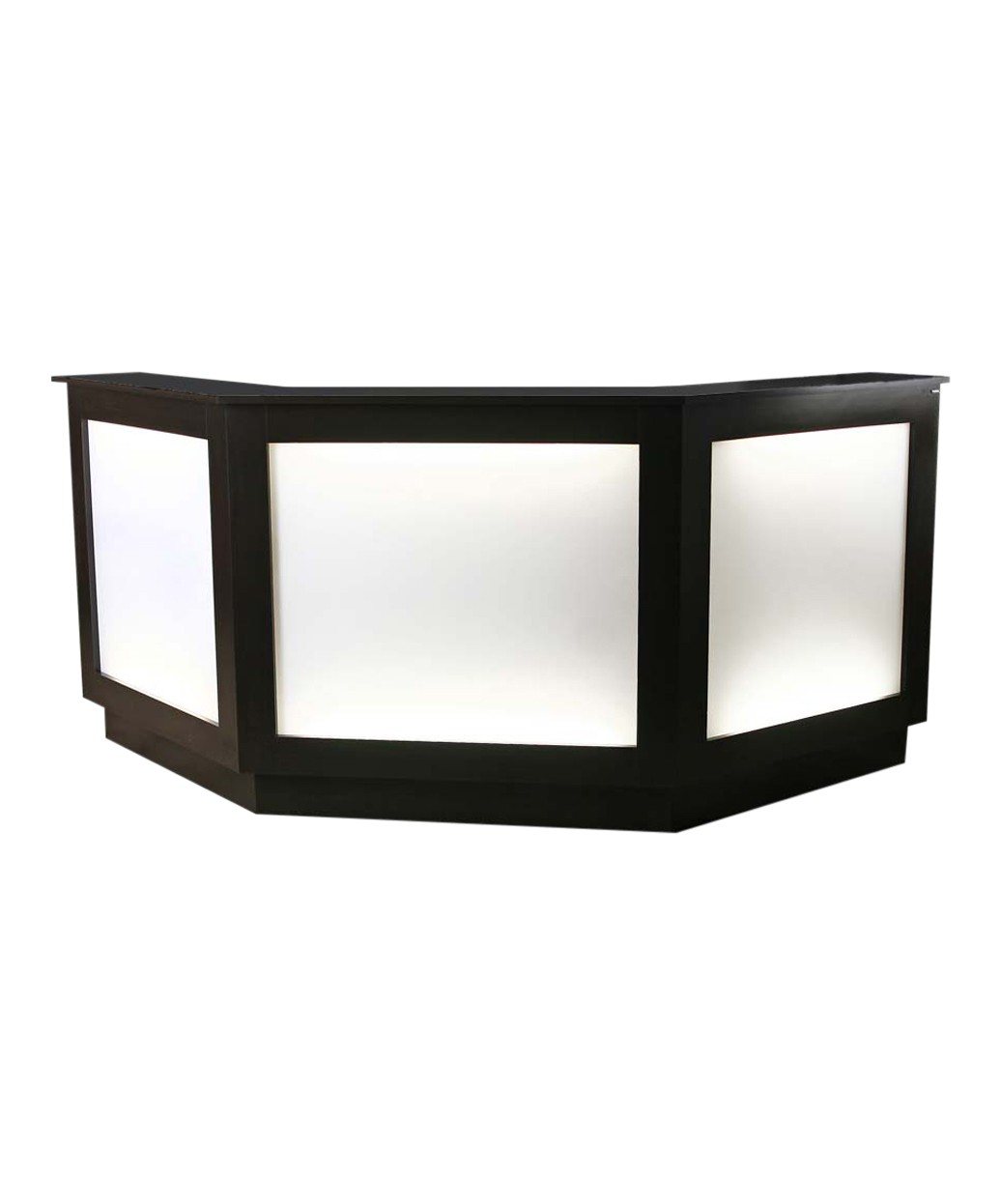 Collins 103061 SO Three-Sided Reception Desk w/ Back-Lit Panel