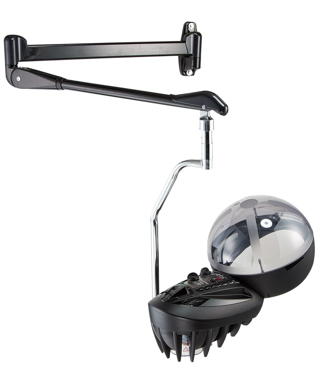 Pibbs 129 EcoVap Ion Professional Hair Steamer w/ Wall Mount
