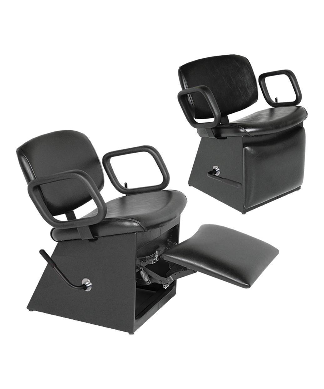 Collins QSE 1850L Lever-Control Shampoo Chair w/ Leg-Rest