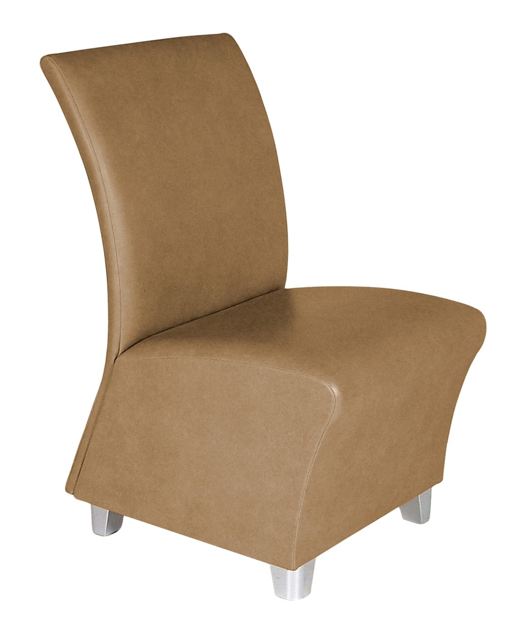 Collins QSE 1980 Lanai Reception Chair w/ Chrome Legs