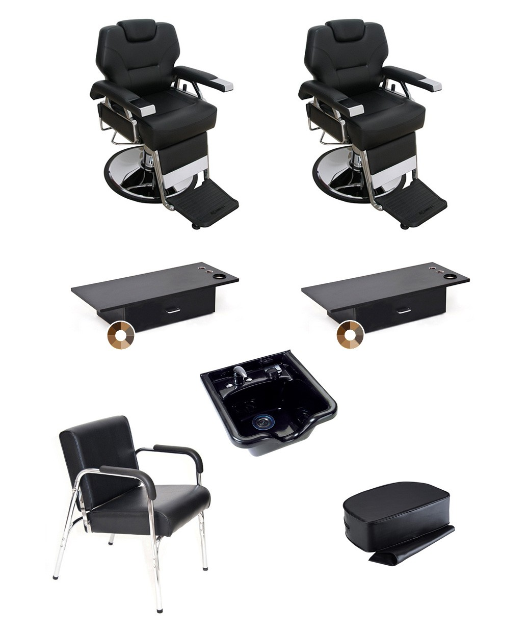 2 Operator Basic Barber Package Products