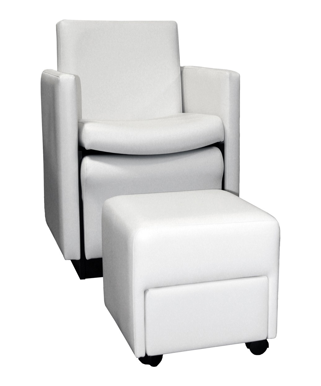 Collins 2550 Cigno Club Pedicure Chair W Footsie Bath