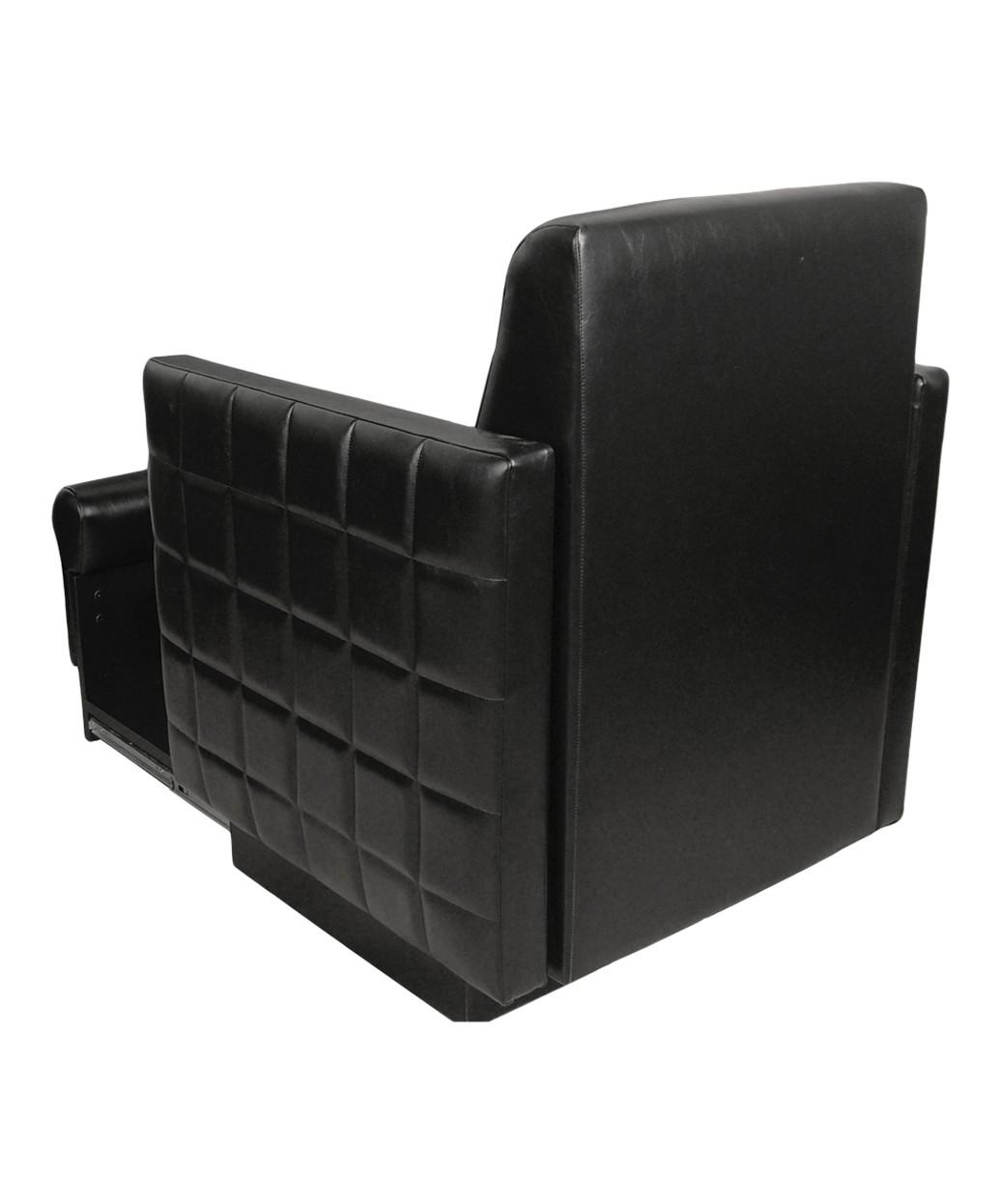 Collins 2560 Nouveau Club Pedicure Chair w/ Footsie Bath