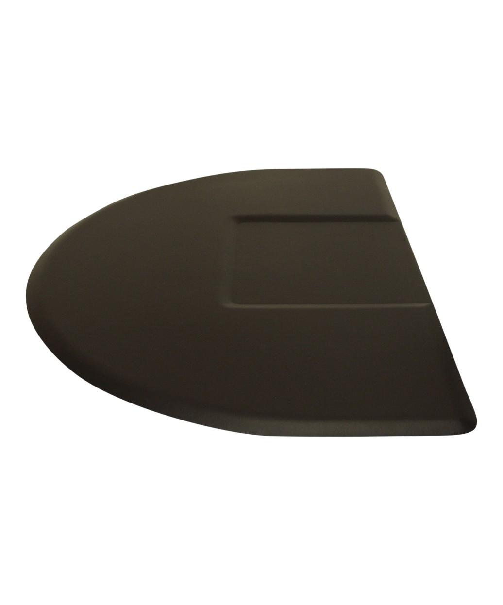 """3.5' X 5' IC Urethane Extra Soft Circular Mat w/ Square Cut-Out 5/8"""""""
