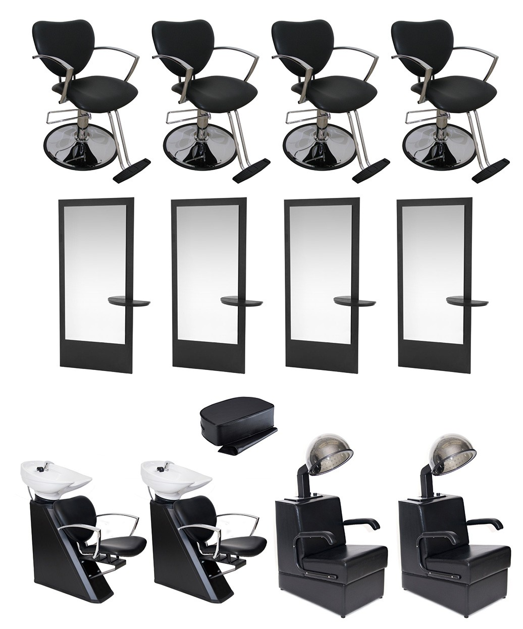 4 Operator Allegro Silver Salon Package