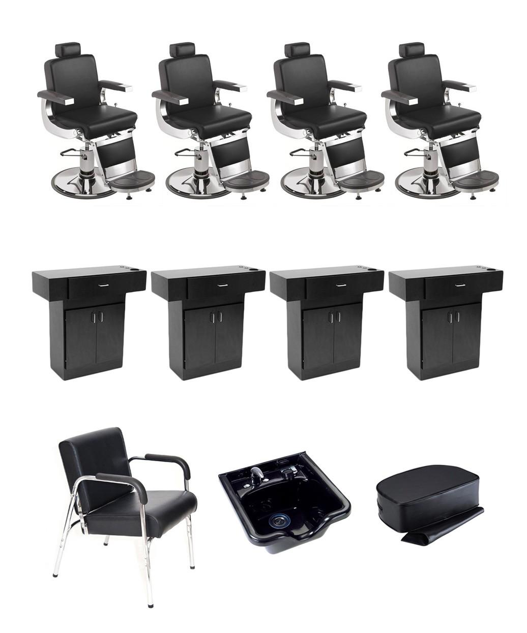 4 Operator Pibbs 658 Barbiere Barber Package
