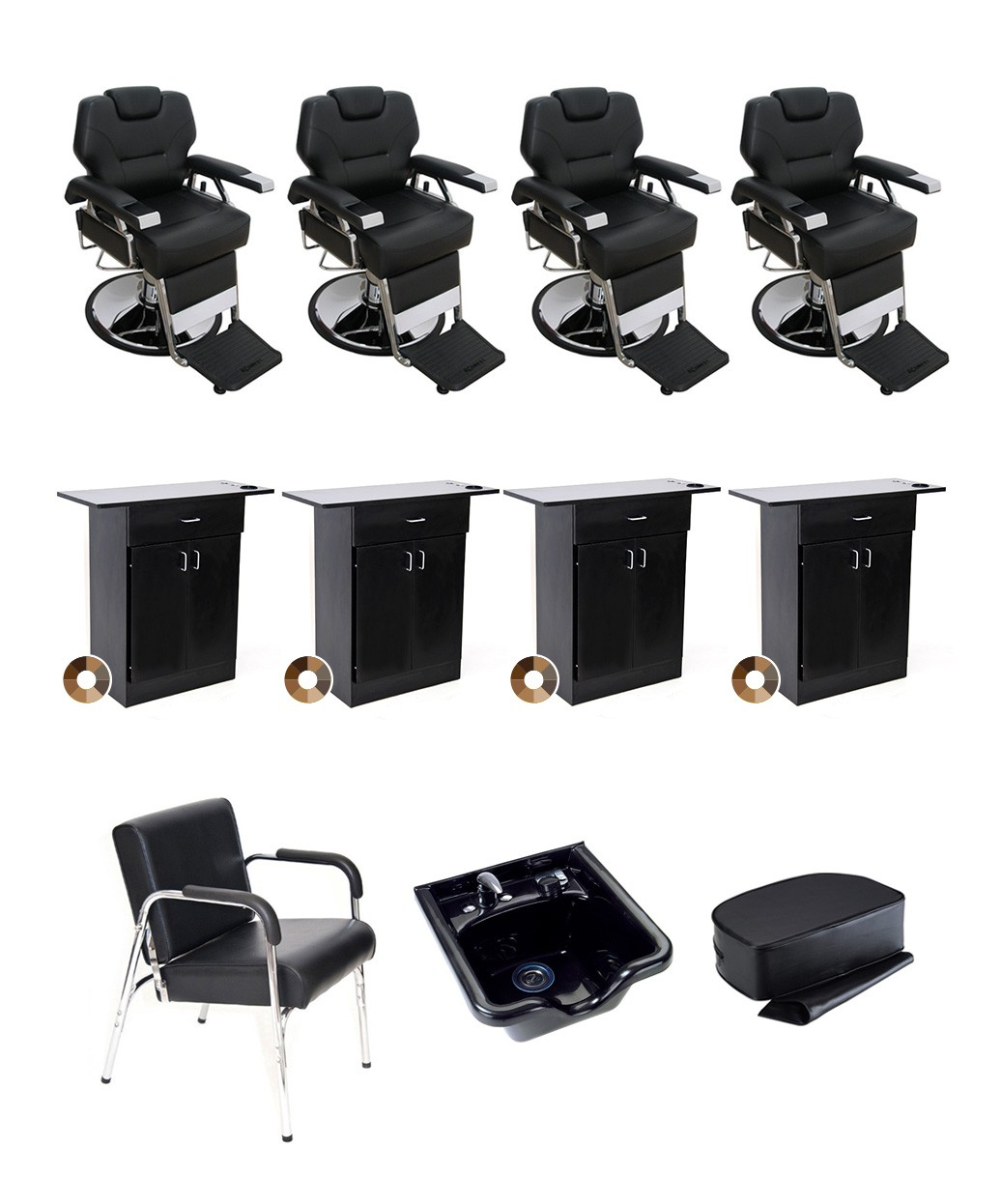 4 Operator Silver Barber Package