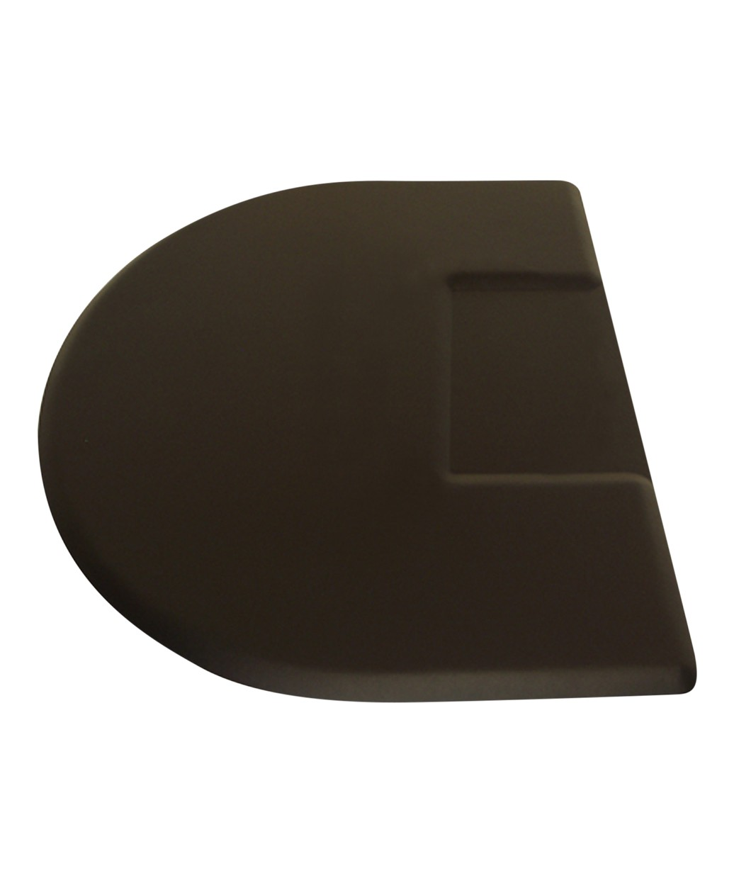 3' X 4.5' IC Urethane Extra Soft Circular Mat w/ Square Cut-Out 3/4""