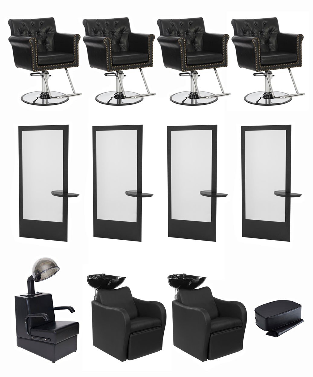 4 Operator Chelsea & Allegro Salon Package