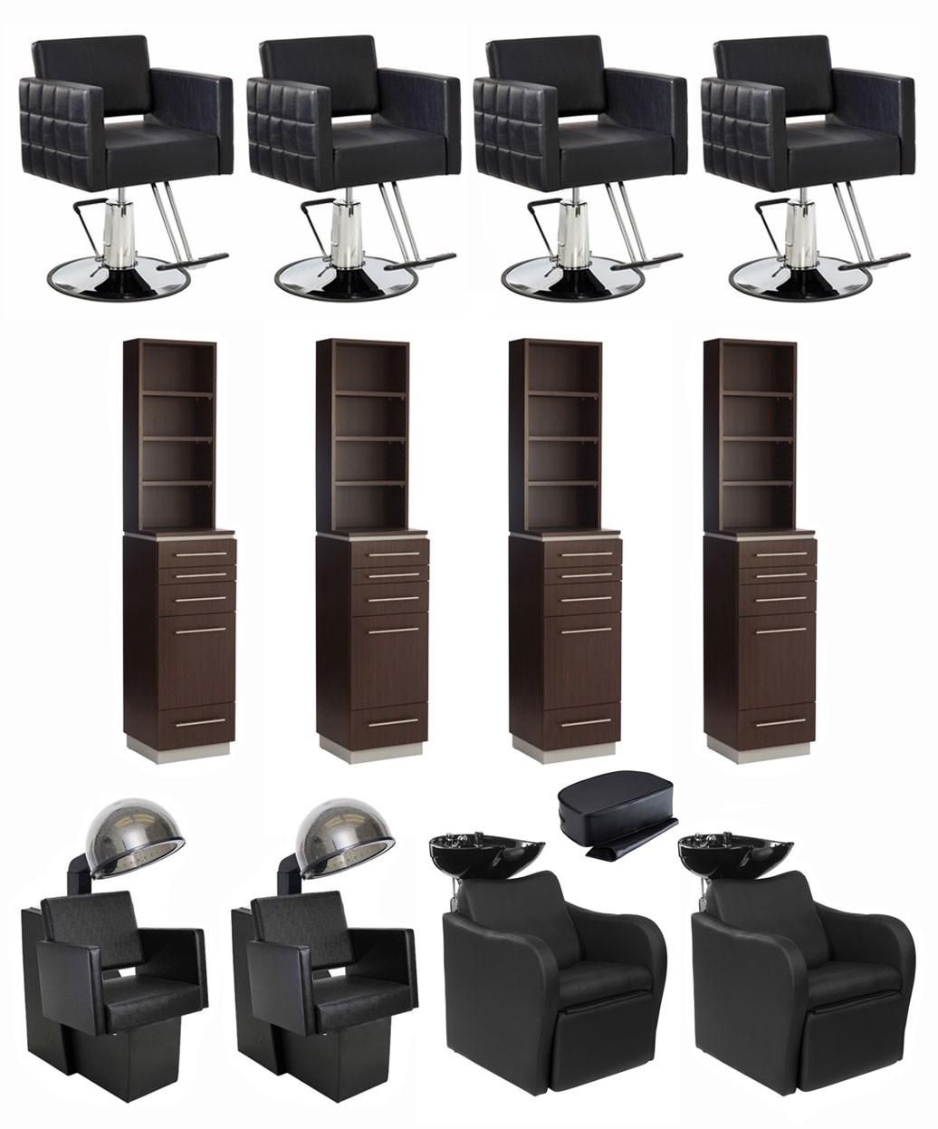 4 Operator Icon & Bali Tower w/ Retail Salon Package