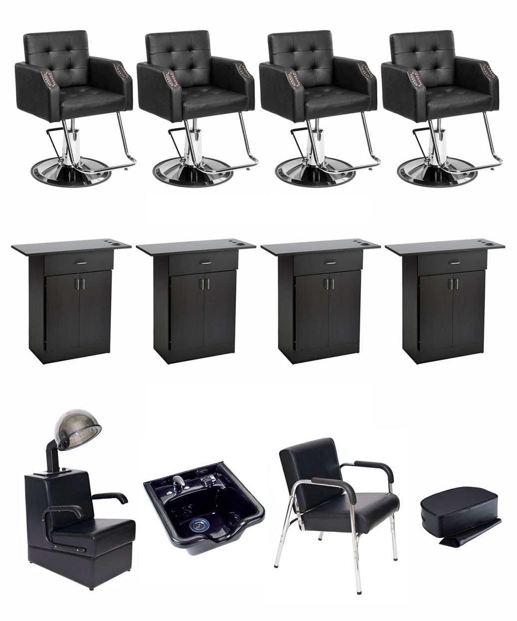 4 Operator Silver Antica Salon Package