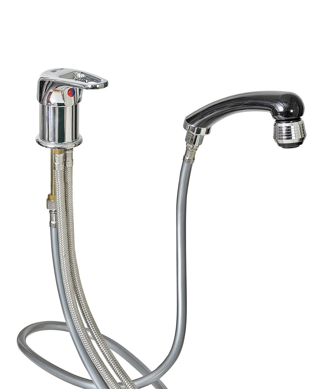 Pibbs Italian Shampoo Hot & Cold Fixture Complete Set