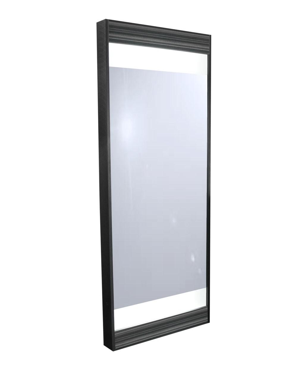 collins 6621 edge full length framed mirror w lights. Black Bedroom Furniture Sets. Home Design Ideas