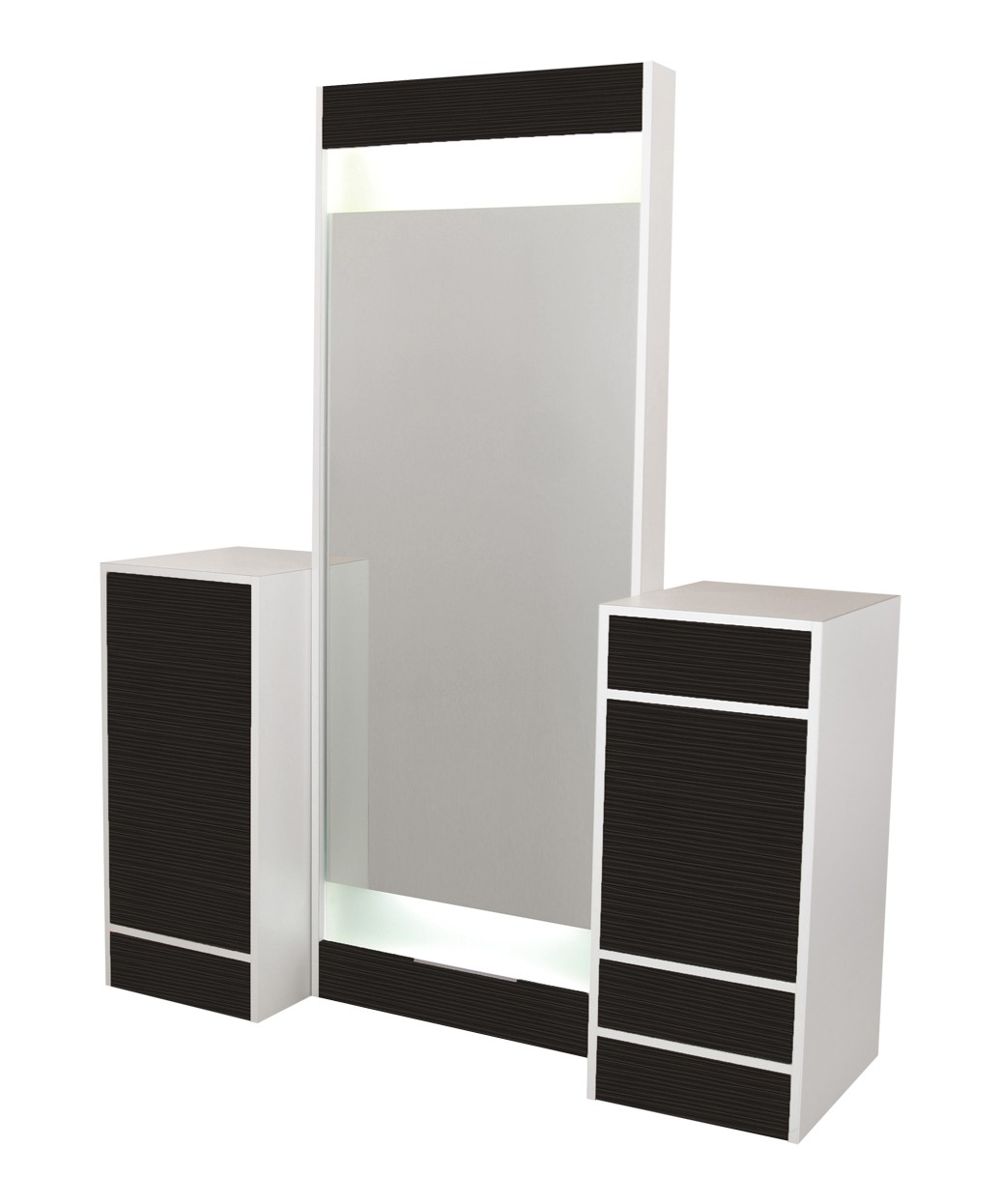 Collins 6623 Edge Back-to-Back Styling Vanity w/ Back-Lit Mirrors