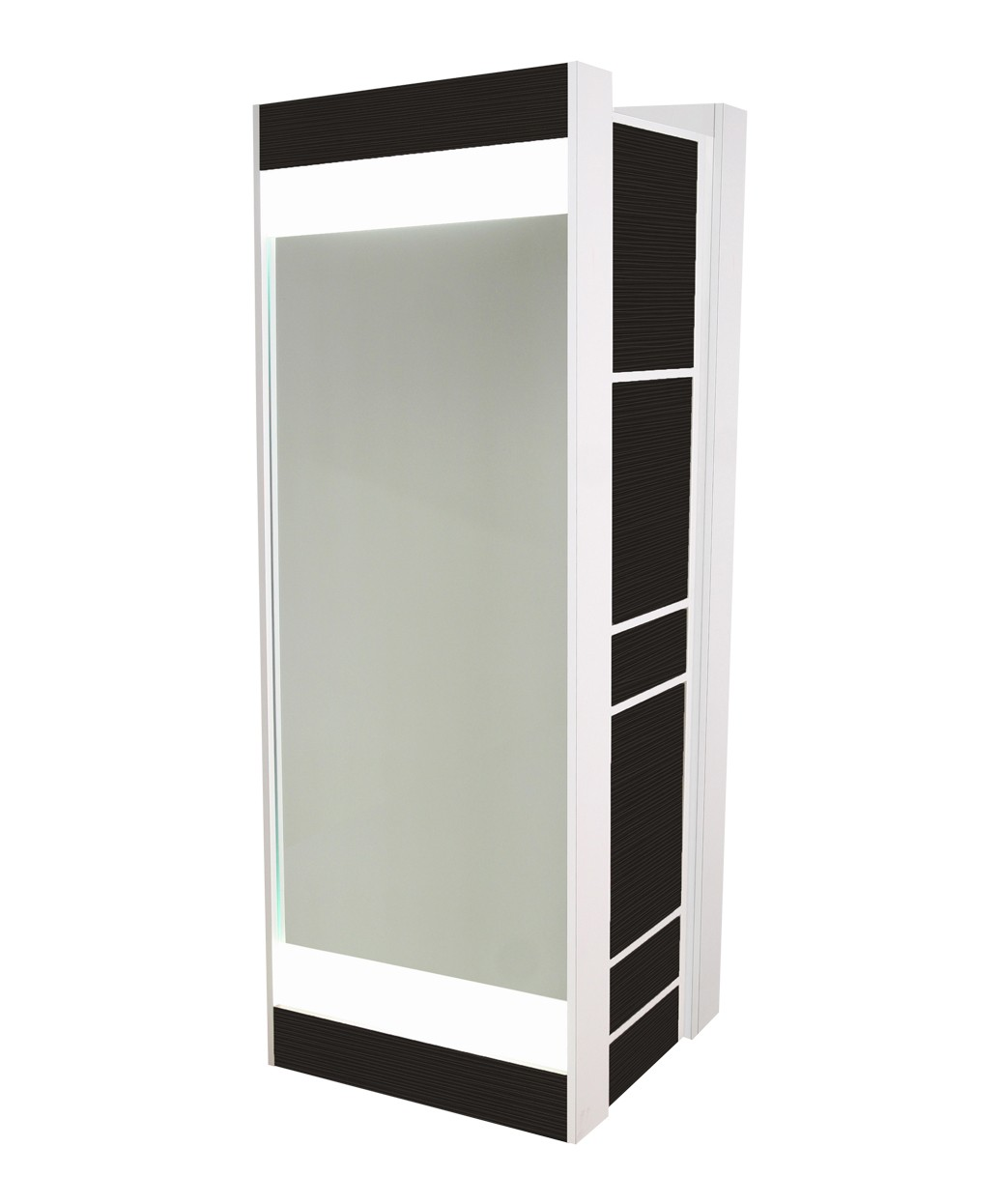 Collins 6625 Edge Formula Back-to-Back Station w/ Back-Lit Mirrors
