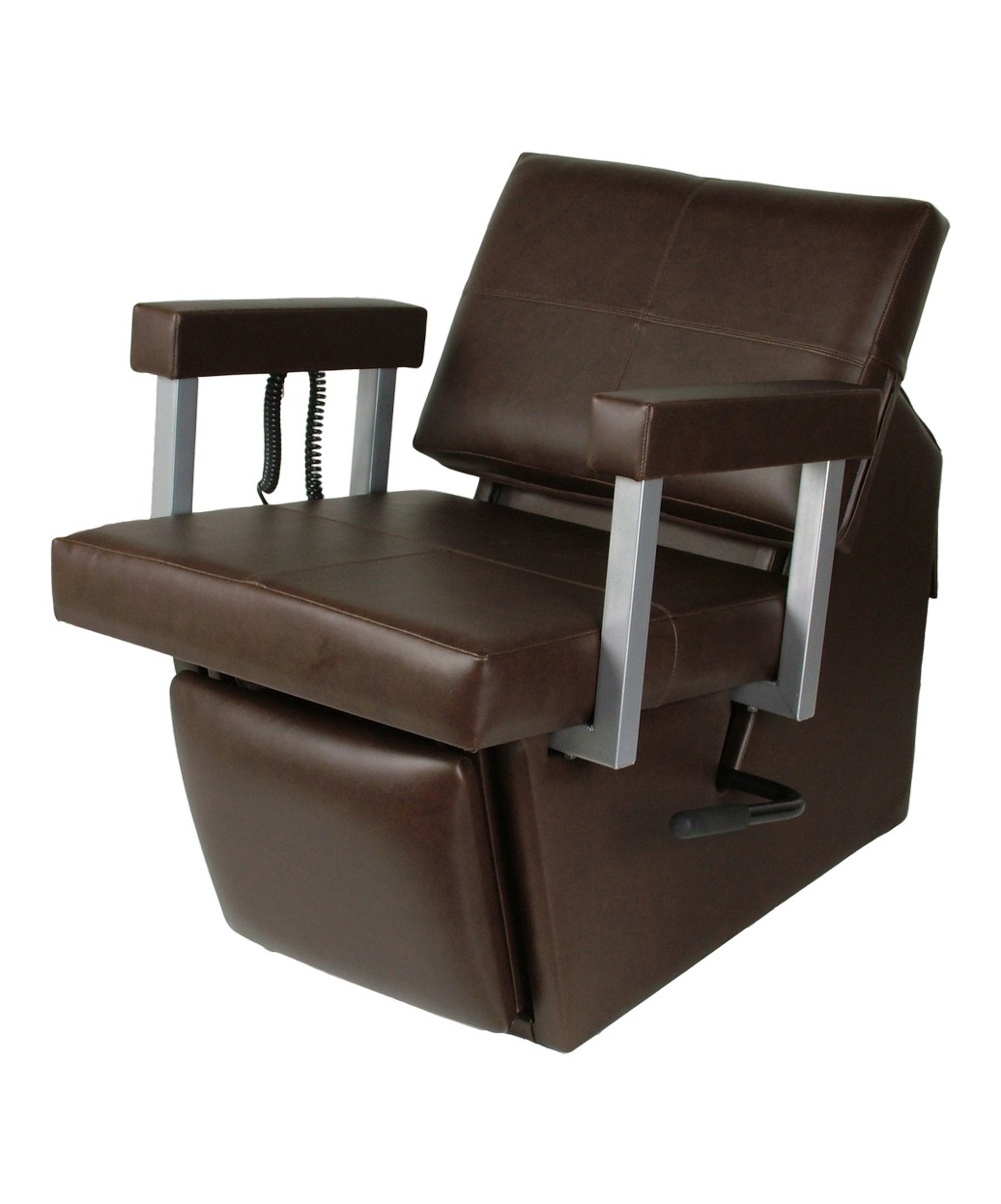 Collins 67ES Quarta Electric 59 Shampoo Chair w/ Kick Out Legrest