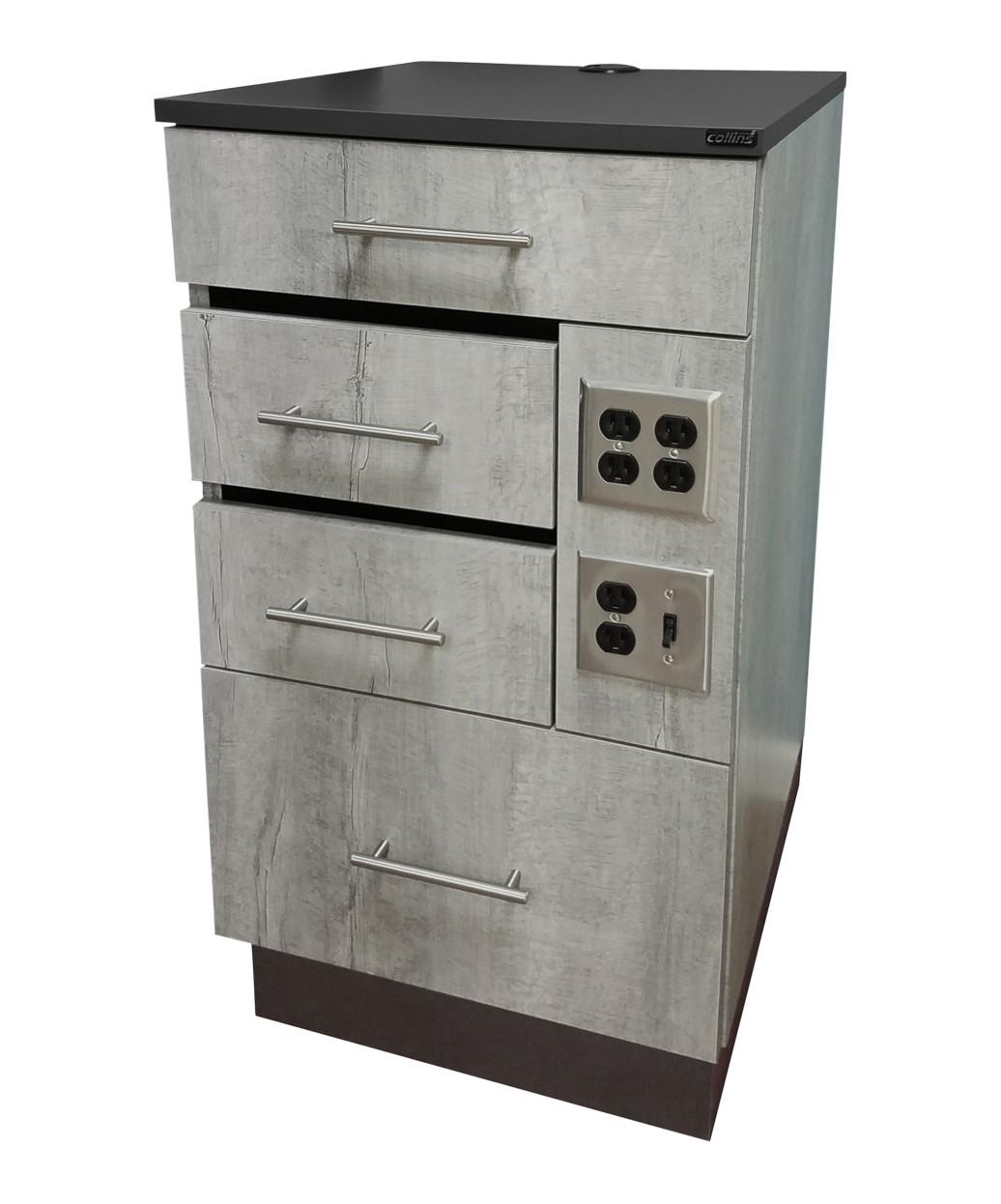 Collins 6813-20 LaCarte Barber Cabinet