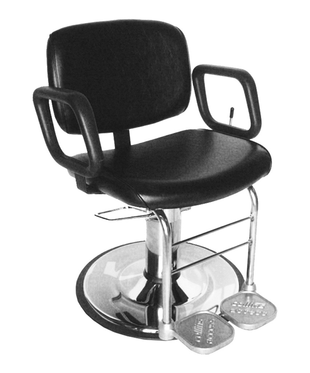 Collins 7710 all purpose salon chair for waxing threading for Wax chair salon
