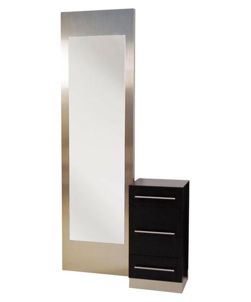 Belvedere Q00635 & Q00636 Grand Luxor Complete Mirror & Station