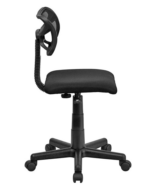 Mid-Back Black Square Mesh Task Chair