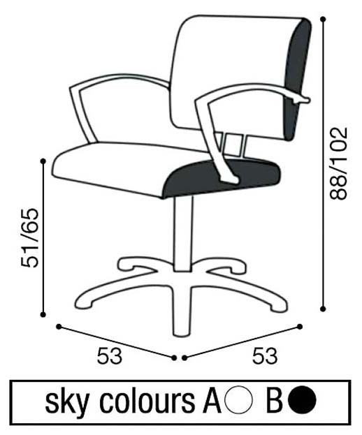 Salon Ambience SH-930 Nexia Styling Chair