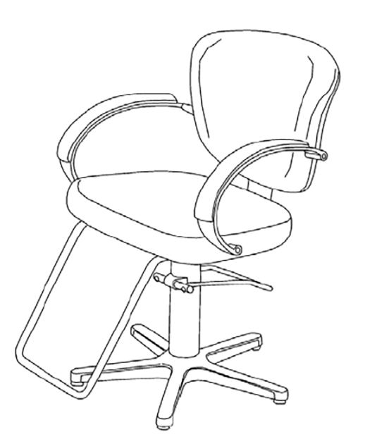 Takara Belmont EXST-710 Libra Styling Chair
