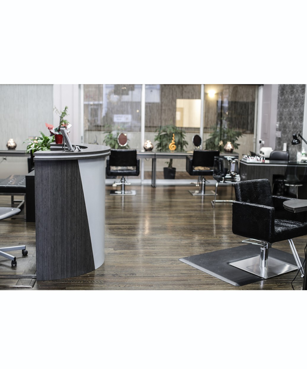 Bali Circular Reception Desk