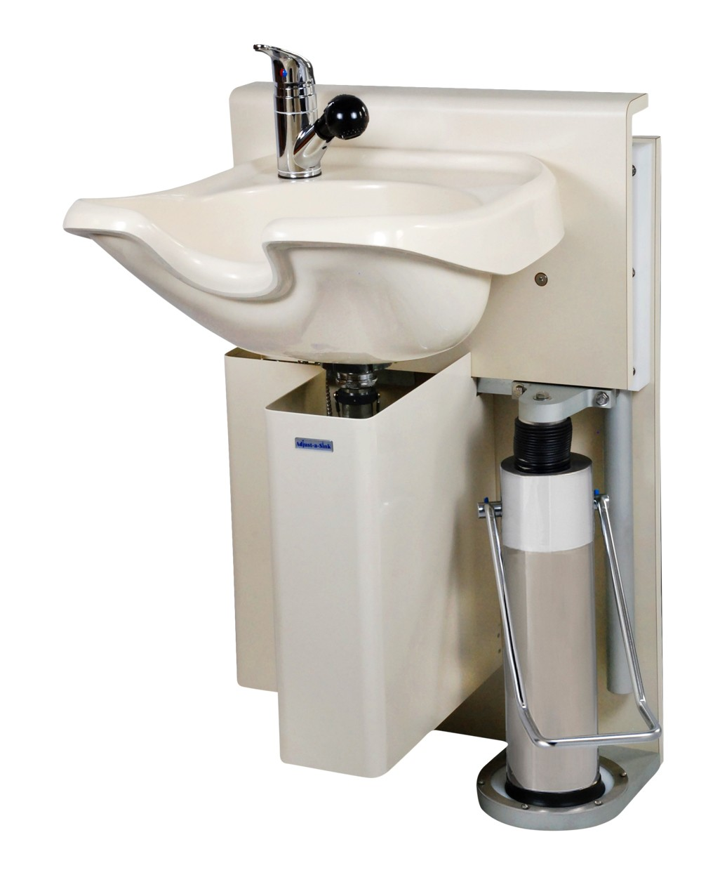 Adjust-A-Sink Shampoo Unit