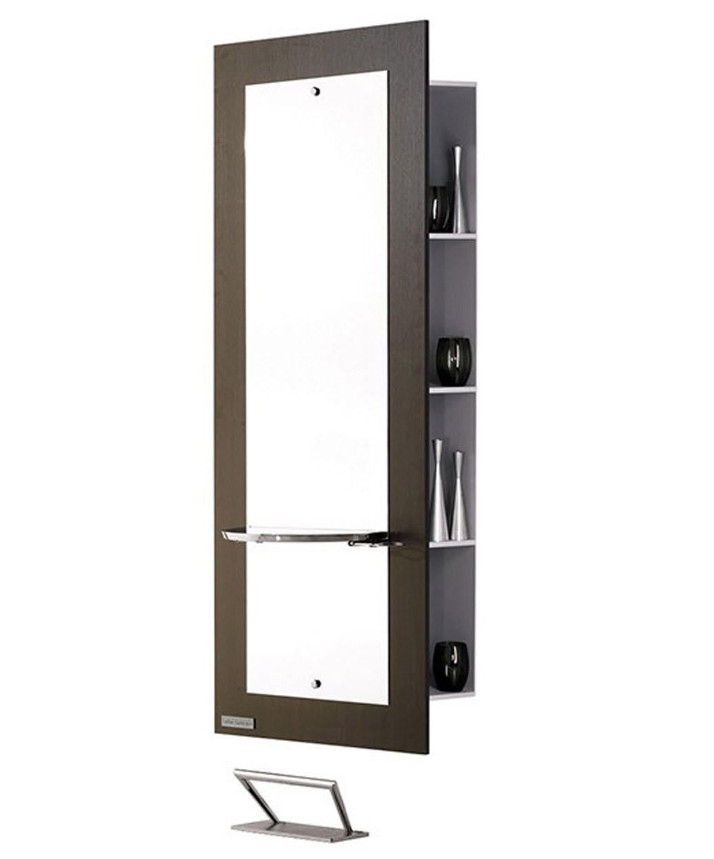 Salon Ambience Barcelona Mirror Styling Station w/ Storage