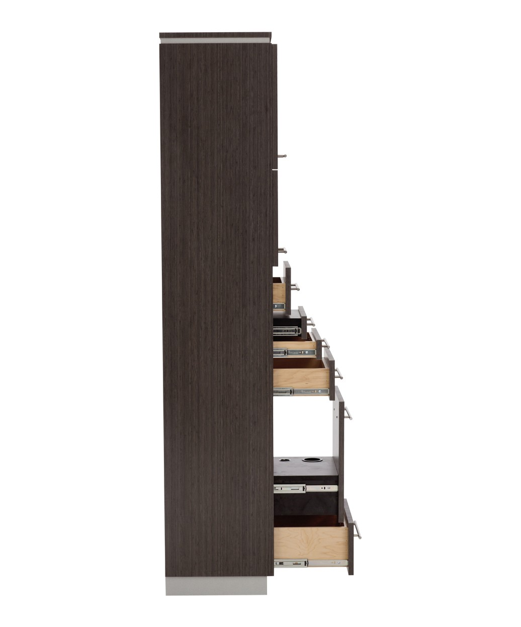 Bali Tower Styling Station w/ Storage & Mirror