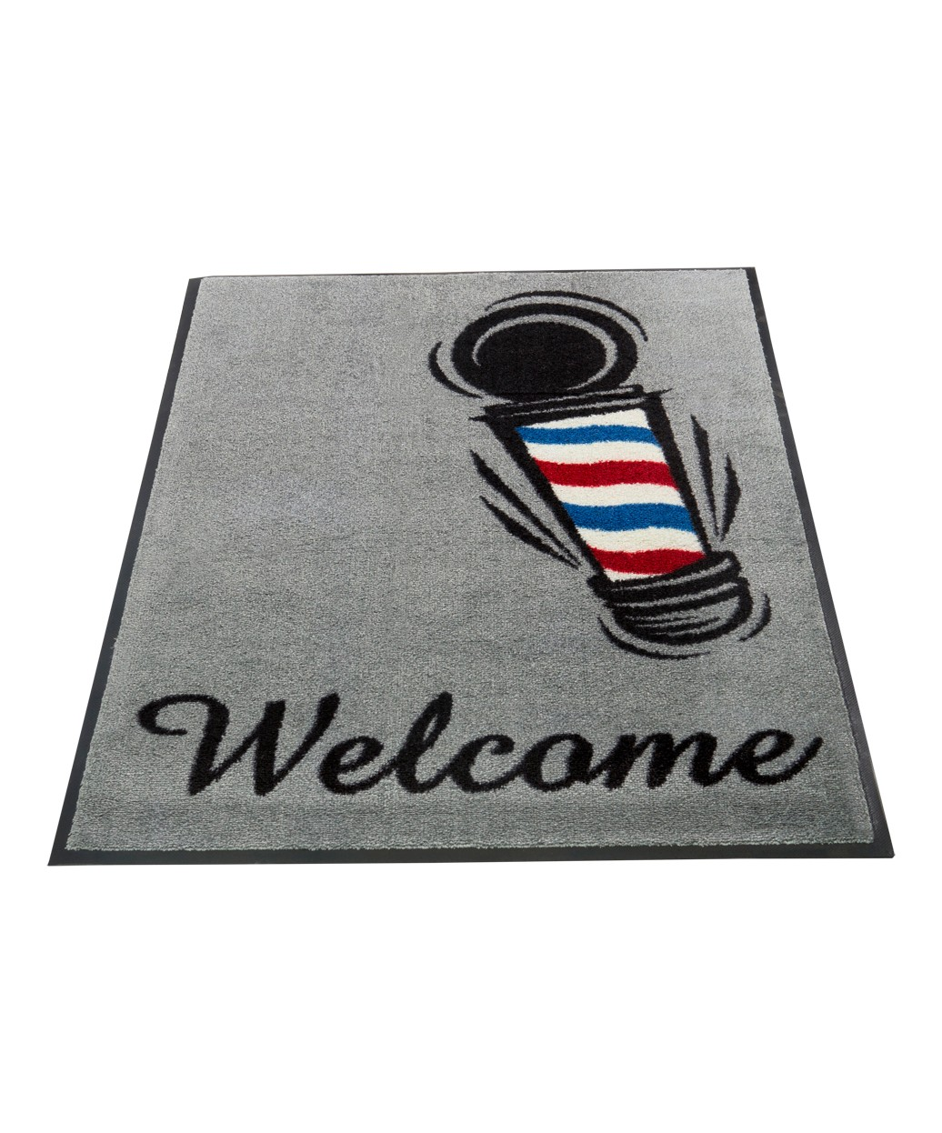 Barber Shop Welcome Mat