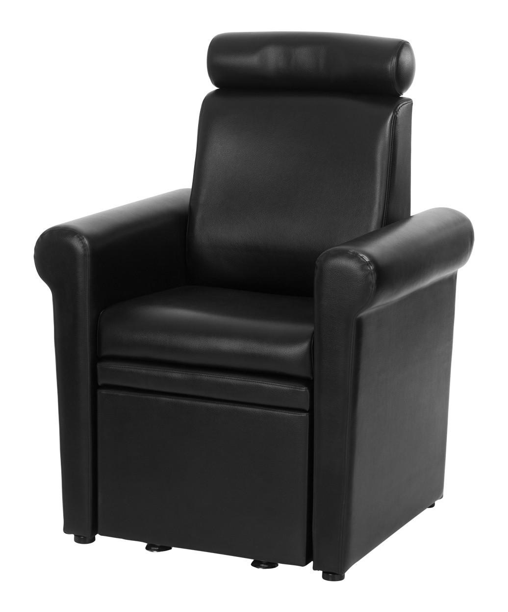 Mona Lisa Pedicure Chair. Black Black Black ...  sc 1 st  Buy-Rite Beauty & Pedicure Stool with Footrest: Mona Lisa Pedicure Chair islam-shia.org
