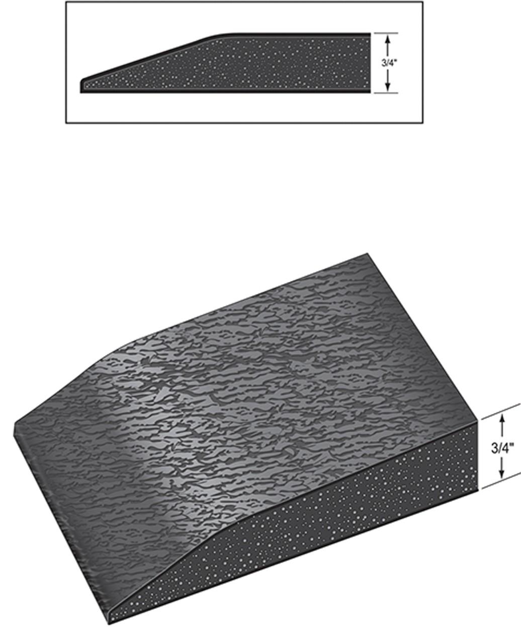 3' X 5' Rhino Comfort Craft Classic Anti-Fatigue Mat w/ Round Cut-Out