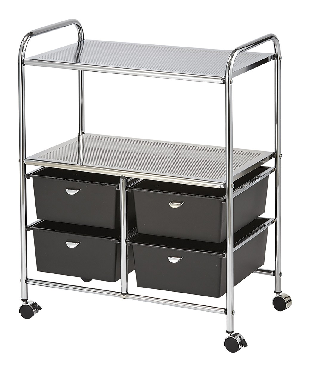 Pibbs D4B Work Cart - Black