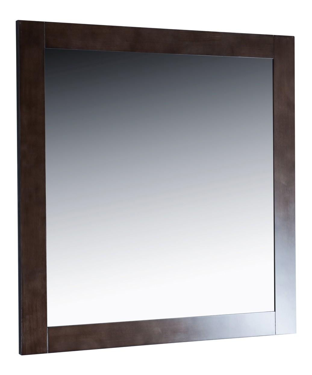 """Madison 36"""" Oak Grey Vanity Styling Station & Mirror"""