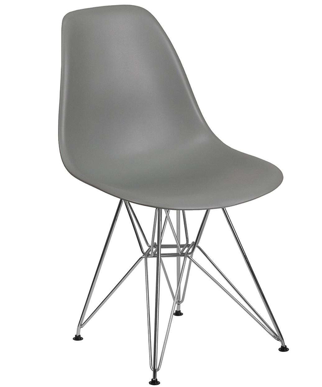 Cloud Reception Chair w/ Chrome Base