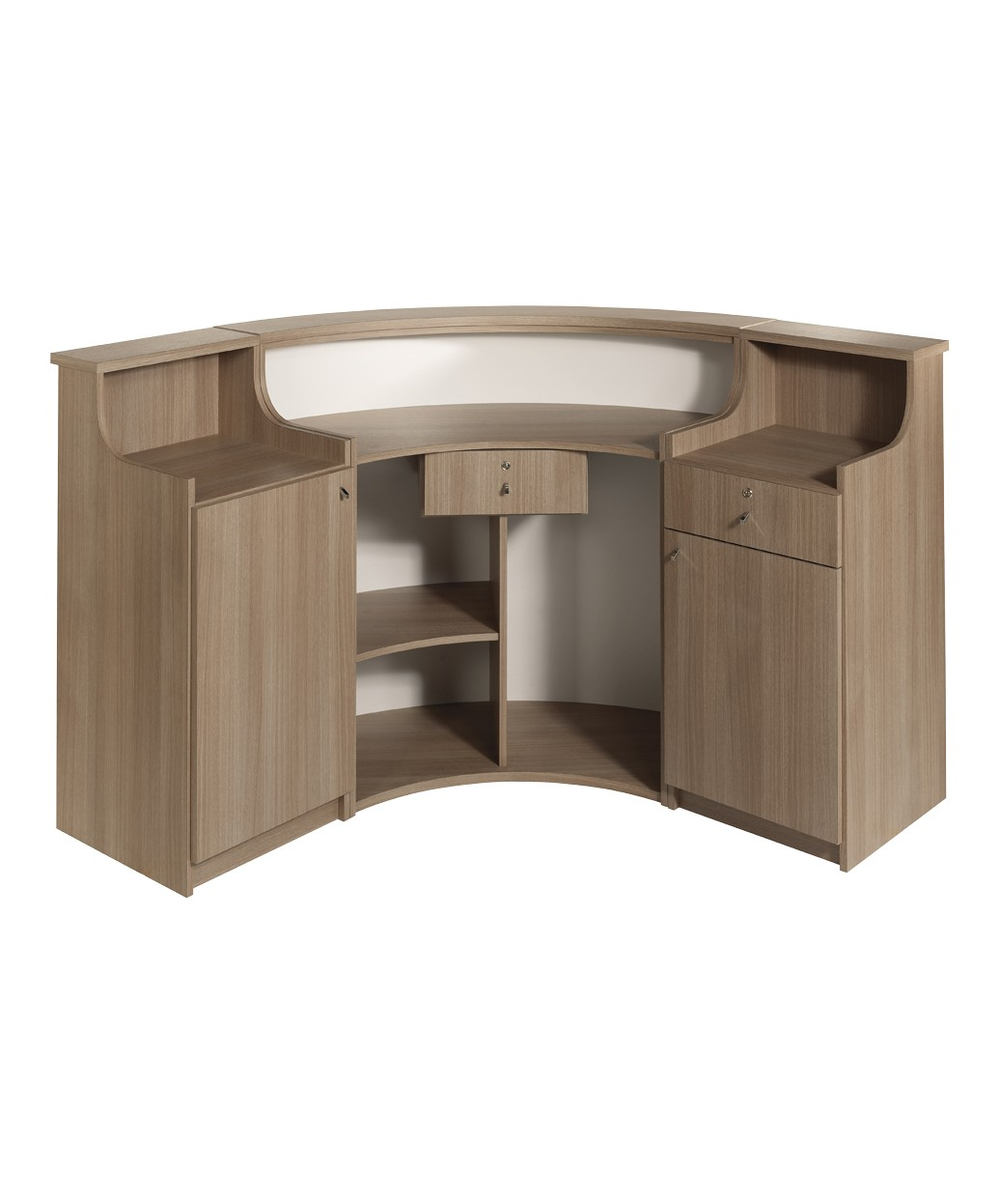 Salon Ambience RD186 Form Italian Reception Desk