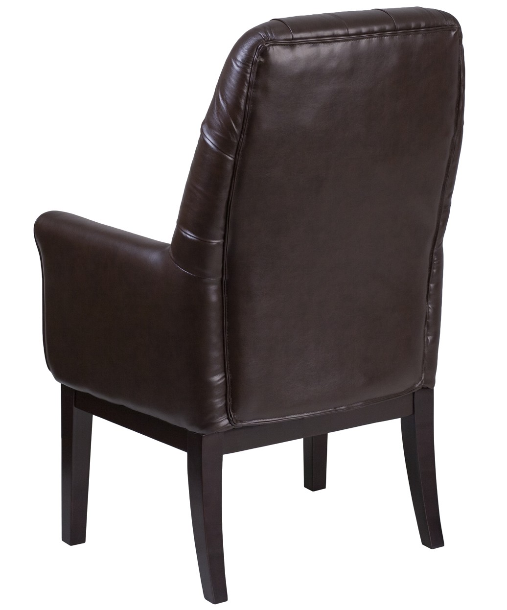 Wilson Tufted Leather Reception Chair