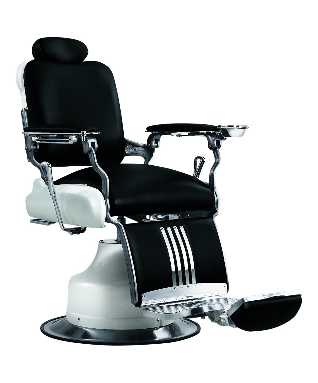 Modern barber chair - Red Red Red