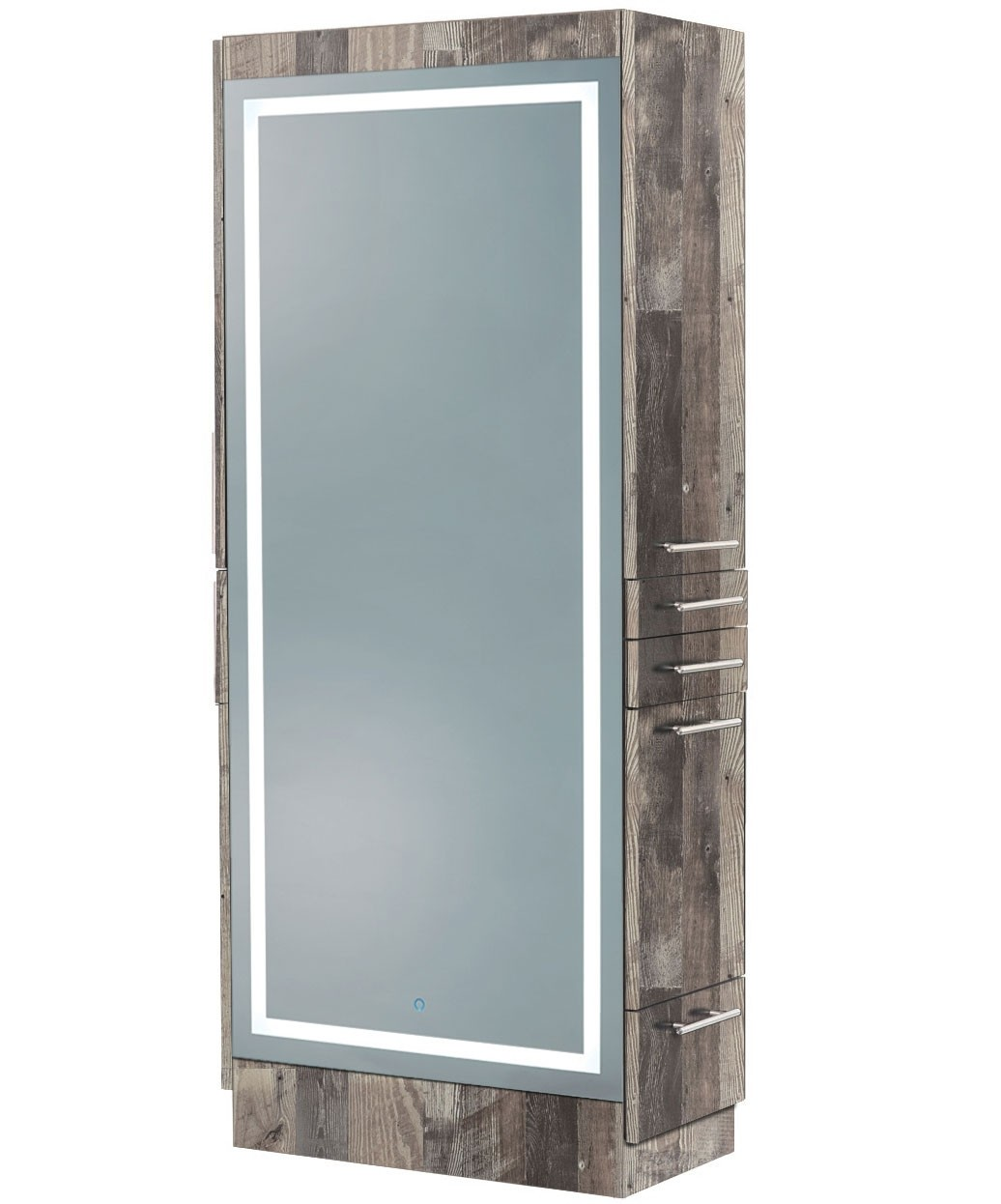 Elite Double Sided Styling Station w/ LED Mirror