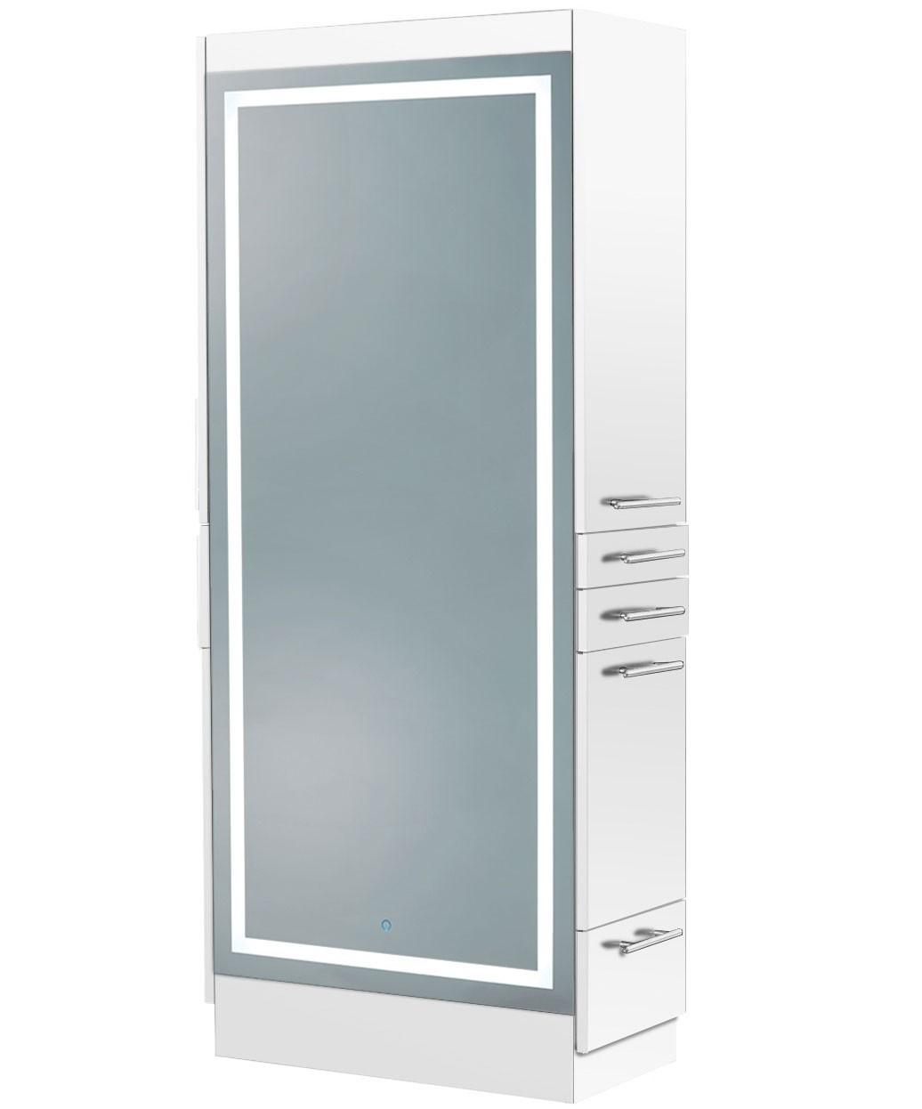 Elite Styling Station w/ LED Mirror