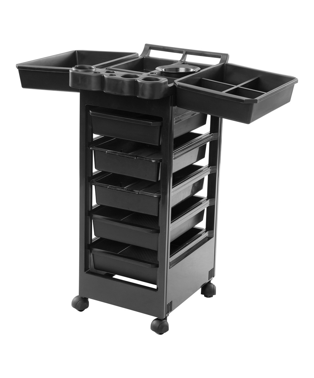 3010 Salon Roller Cart from Buy-Rite Beauty: Closed Drawers
