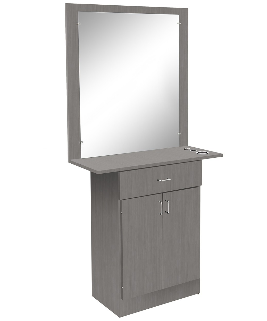 Miami Styling Station With Mirror