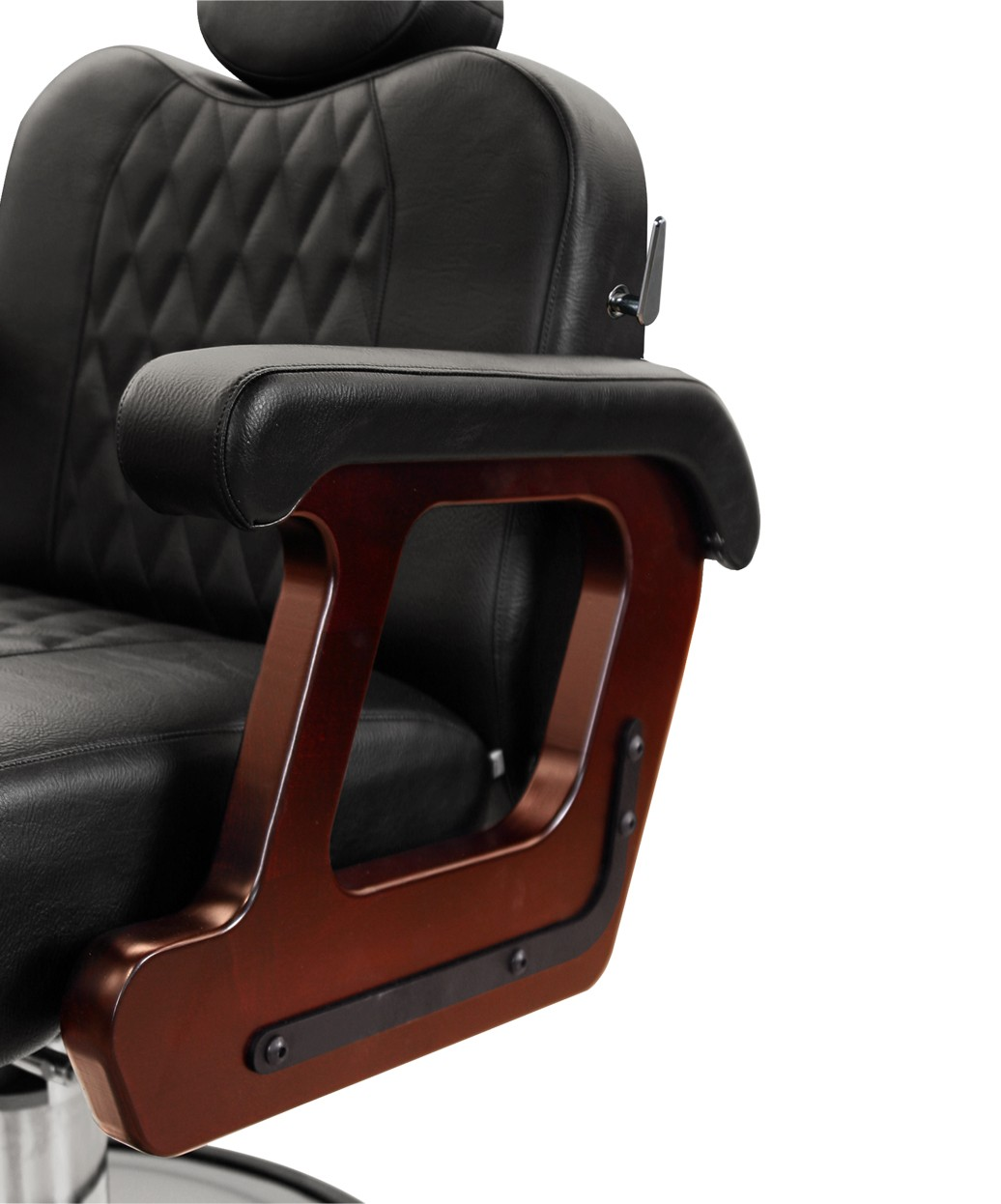 Collins B60 Commander Supreme Barber Chair w/ Calf Pad Legrest