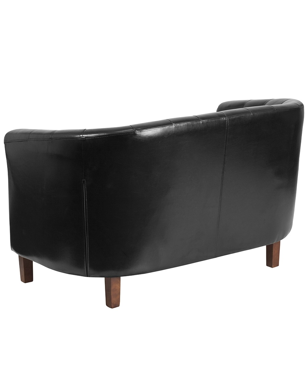 Churchill Reception Tufted Leather Loveseat