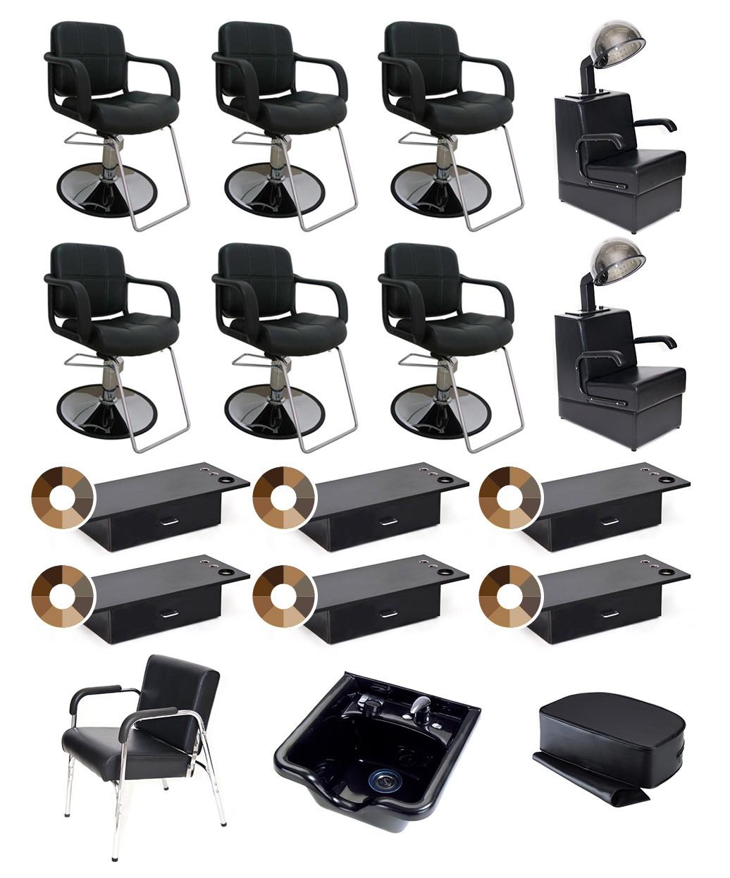 6 Operator Bronze Salon Package
