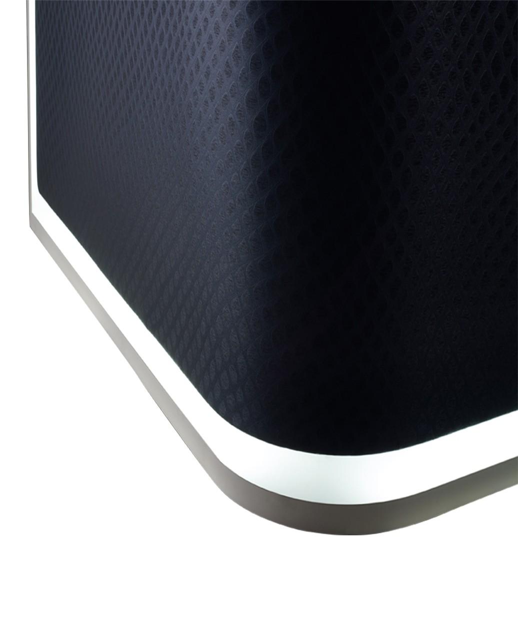 Salon Ambience RD216 Smart Italian Reception Desk w/ LED Light